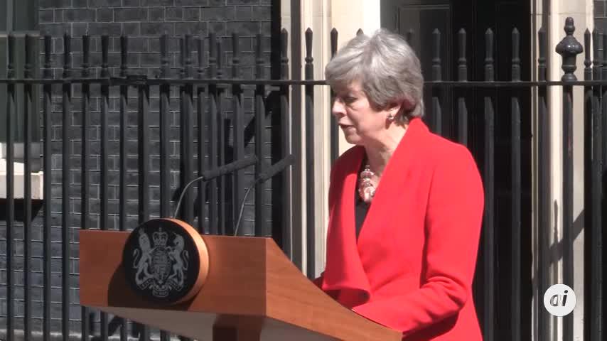 Theresa May anuncia que dimitirá el 7 de junio