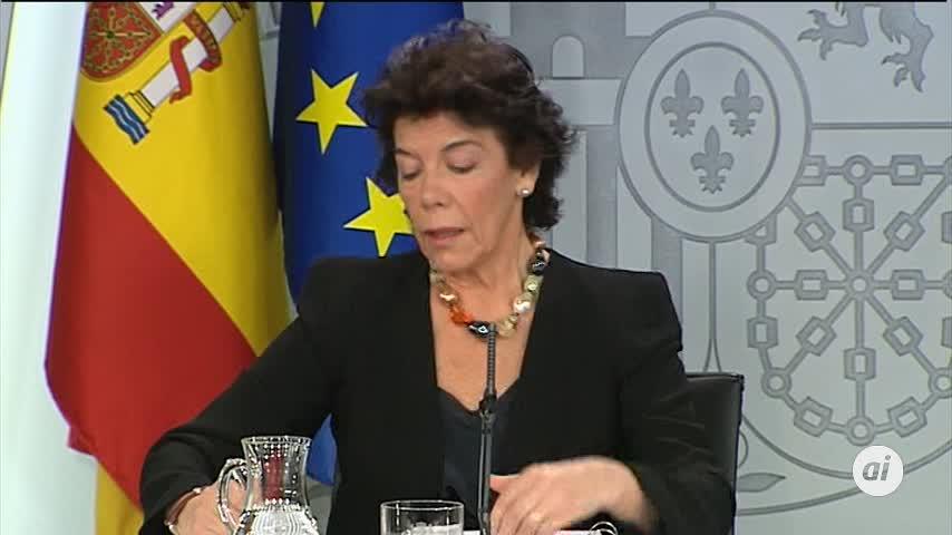 Celaá sobre Pablo Iglesias en el Gobierno: Ni afirmamos, ni negamos
