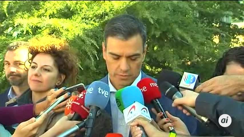 Pedro Sánchez, el primer líder en acudir a las urnas