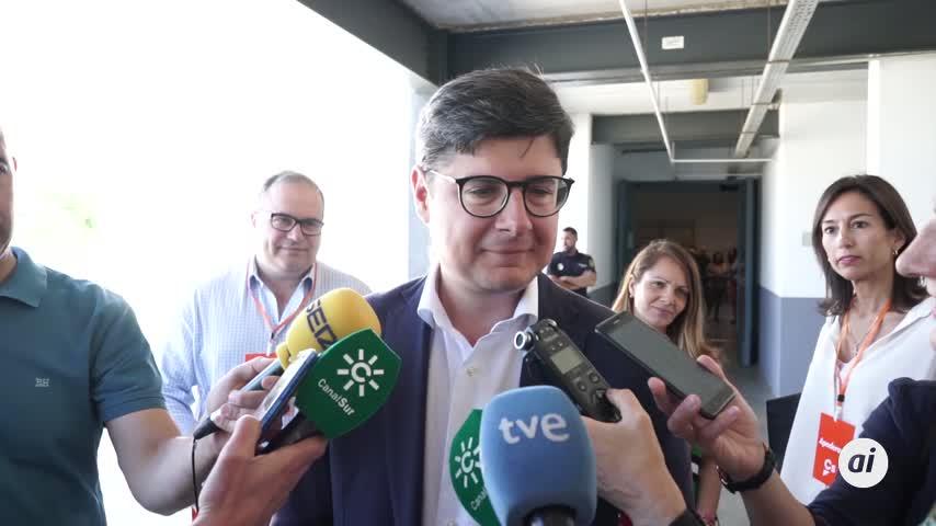 """Pimentel, """"muy ilusionado"""", pide a los ciudadanos que vayan a votar"""