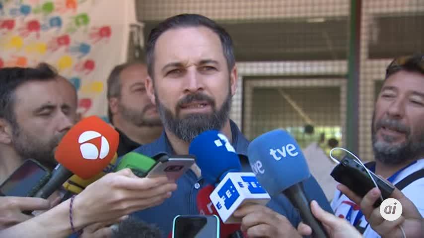 """Abascal anima a los ciudadanos a votar """"sin miedo"""""""