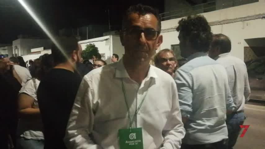 Primeras declaraciones de Miguel Molina tras obtener mayoría absoluta