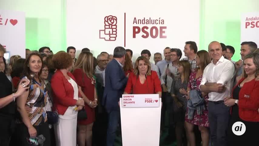 El PSOE sigue su carrera ascendente en Andalucía
