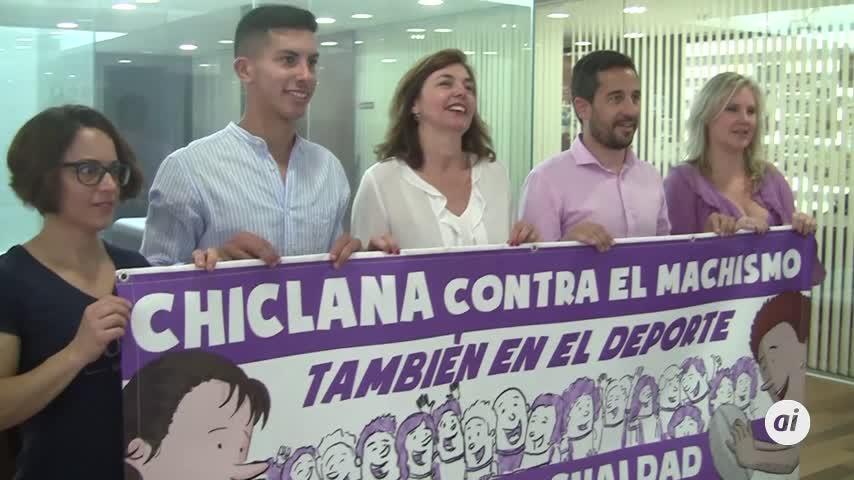 Presentada en Chiclana una campaña contra el machismo en el deporte