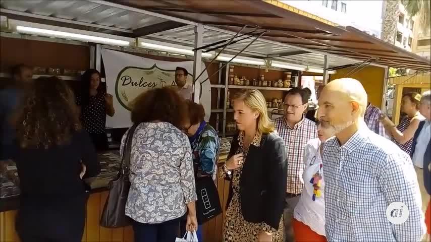 Comienza en Algeciras la Feria de Muestras de Los Alcornocales