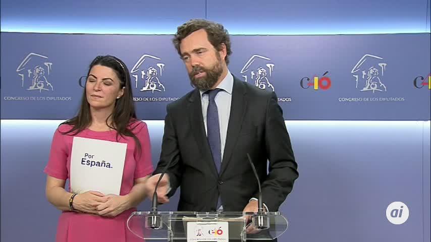 """Vox insiste en que no van a """"imponer puestos ni candidatos"""" en Madrid"""