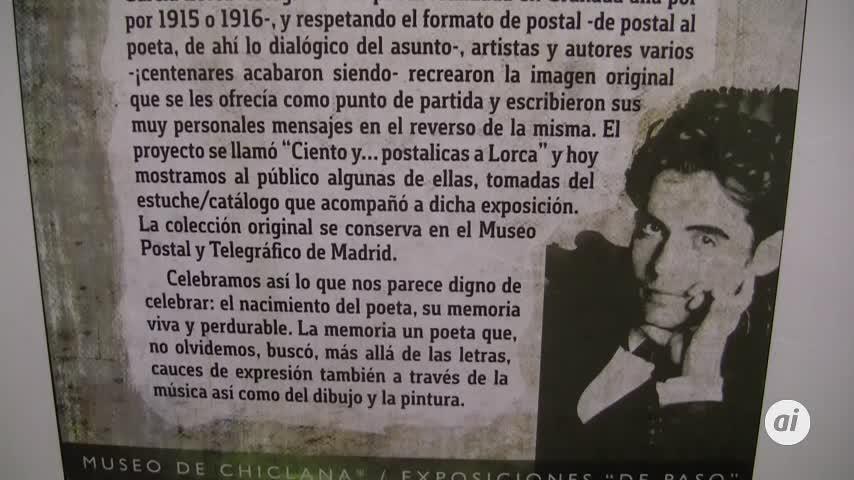 El Museo acoge una exposición dedicada a Federico García Lorca