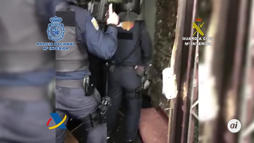 Cae una red de narcotraficantes que introducía cocaína en Algeciras
