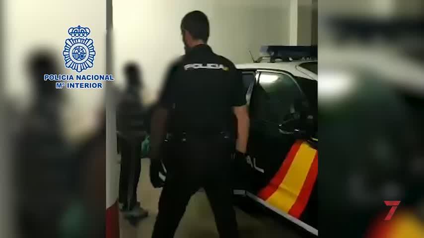 Detenidos siete narcos acusados de matar a un hombre en las Tres Mil
