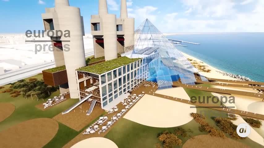 Un egipcio propone construir una pirámide de cristal en Sant Adriá