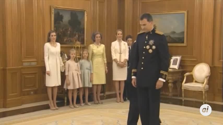 El 67,3 % de los españoles aprueba la actuación de Felipe VI