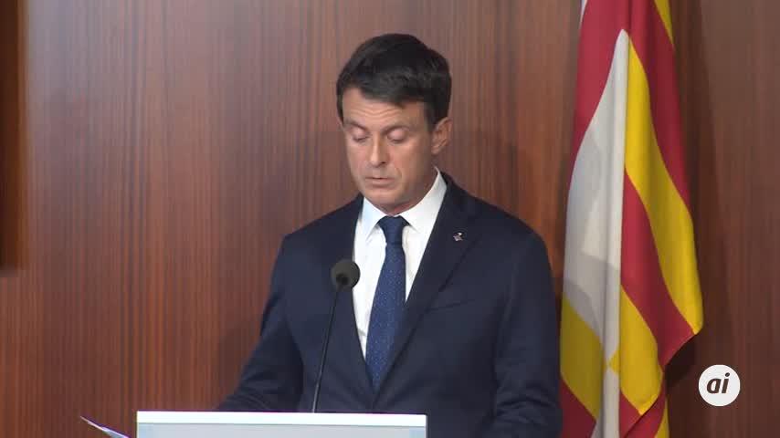 """Valls carga contra Cs por """"irresponsable"""""""