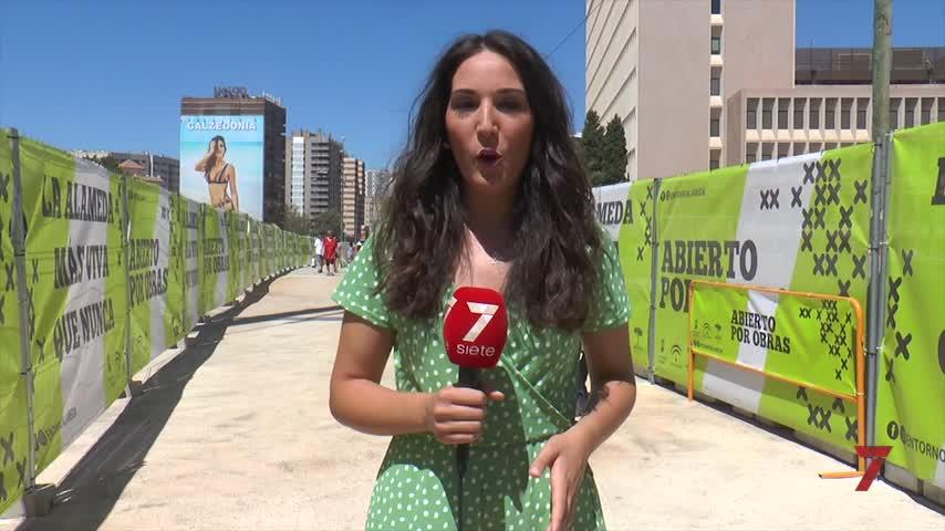 Las obras del metro de Málaga siguen sin fecha de finalización