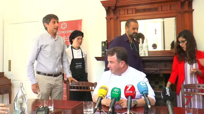 Martín Berasategui y David de Jorge traen sus estrellas hasta Jerez