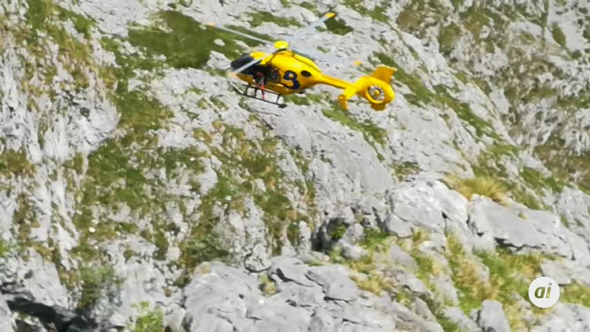 Un niño de 10 años héroe en el rescate de un hombre en Picos de Europa