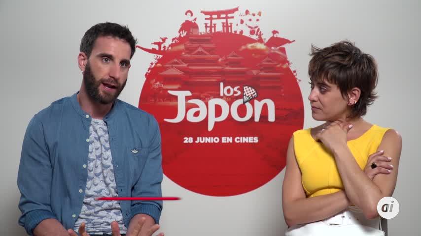 Dani Rovira y María León se ríen del choque cultural en 'Los Japón'