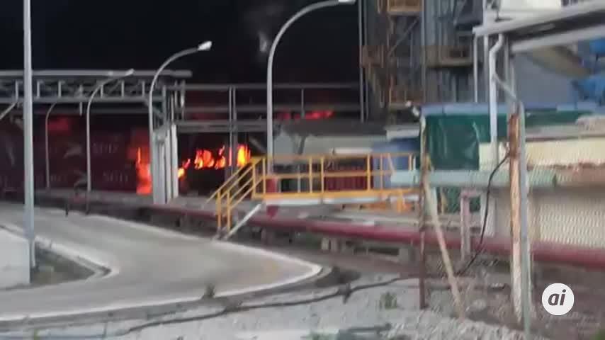 El 112 recomienda cerrar puertas y ventanas debido al humo de Indorama