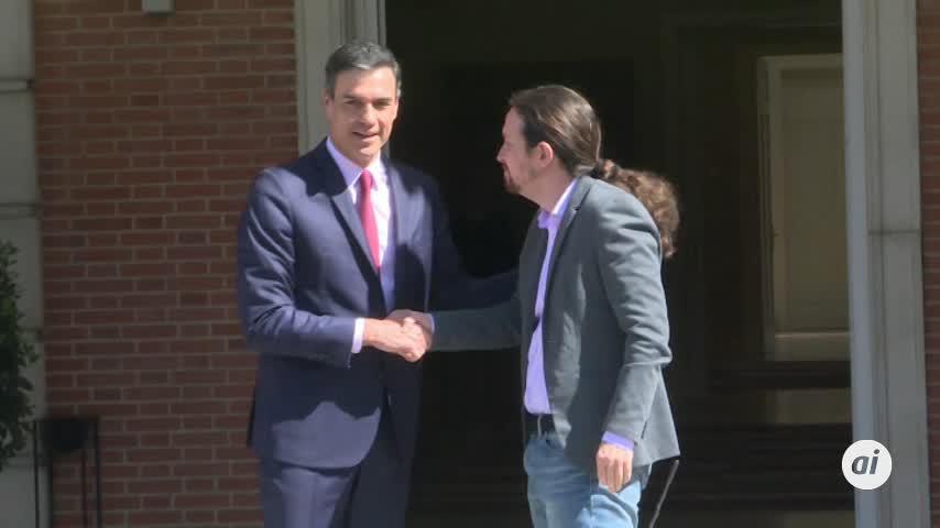 Fracasa la reunión entre Pedro Sánchez y Pablo Iglesias