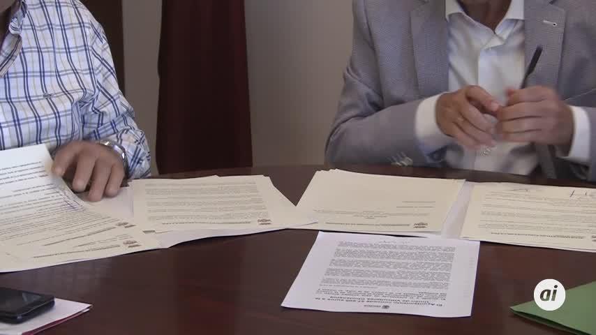 Ayuntamiento y Viticultores firman un nuevo convenio de 57.600 euros