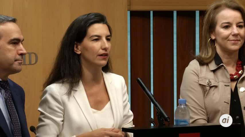 """Vox exige a PP y Cs que firmen abiertamente """"un programa único común"""""""