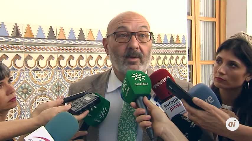 """El grupo de Vox ve """"desafío"""" en la actitud de Serrano sobre La Manada"""