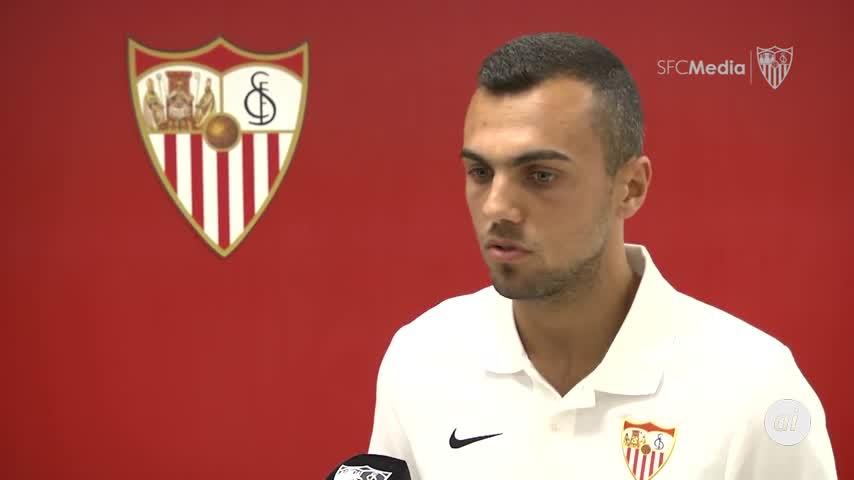 Jordán (Eibar), tercer fichaje del Sevilla, firma hasta 2023