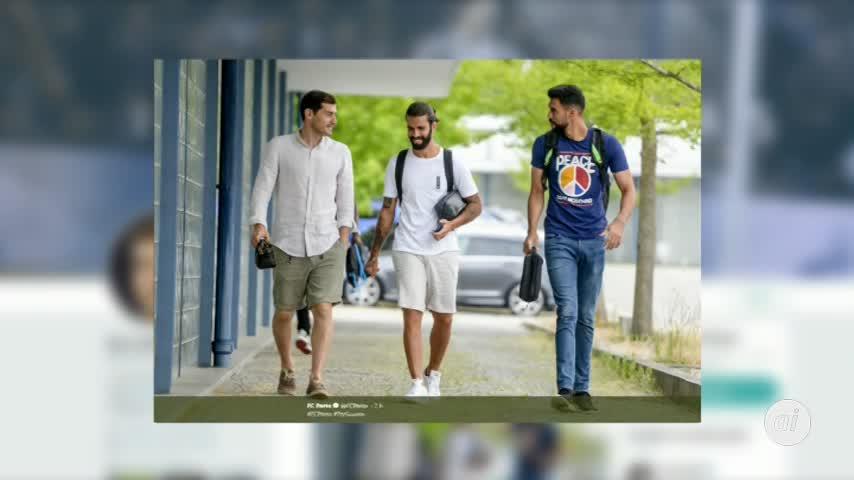 Casillas se une a la pretemporada del Oporto