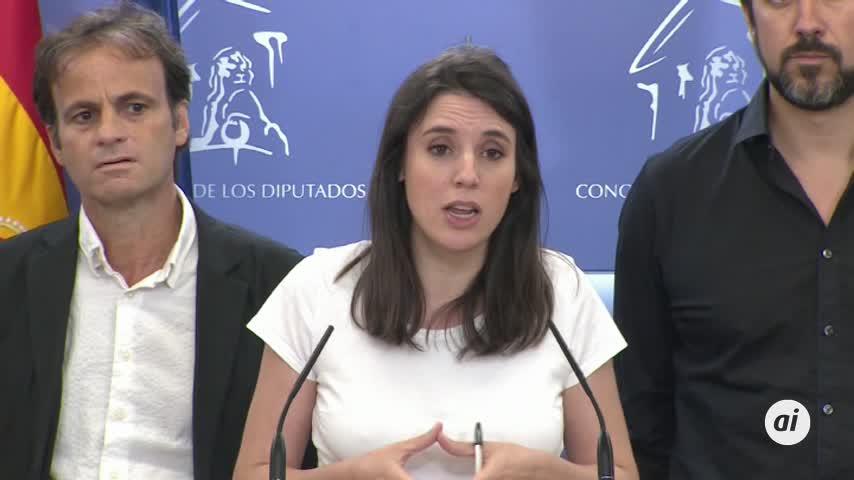 """Podemos a Sánchez: """"Todos en Podemos somos independientes del Ibex 35"""""""