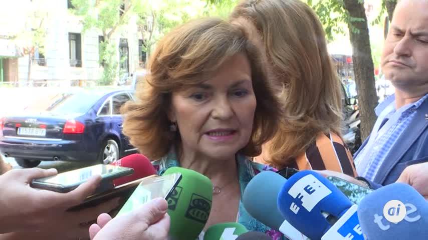 Calvo pide madurez a Iglesias y Sánchez no ofreció ministerios