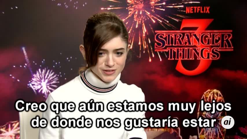 Natalia Dyer lucha contra el machismo en Stranger Things 3