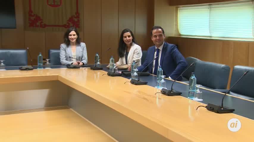 Fracasa la reunión PP-Cs-Vox para investir a Díaz Ayuso en Madrid