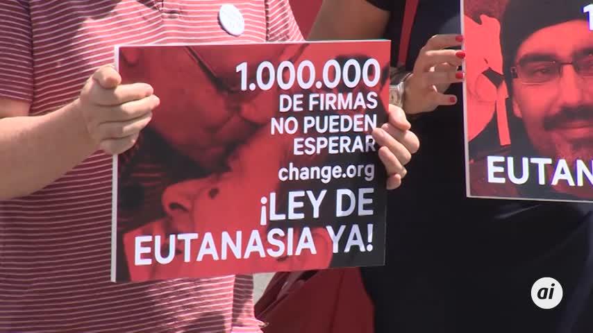 Un millón de firmas urgen despenalizar la eutanasia