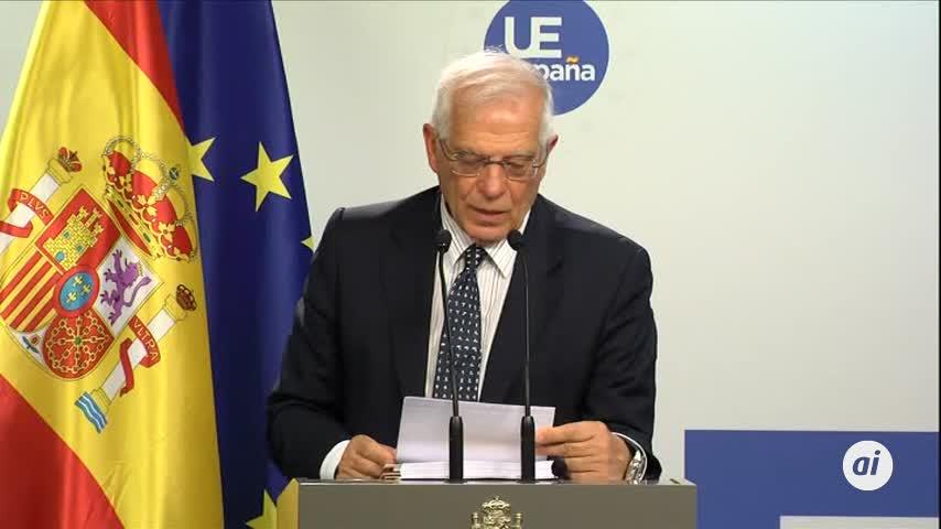 Borrell deja la puerta abierta a sanciones a Venezuela