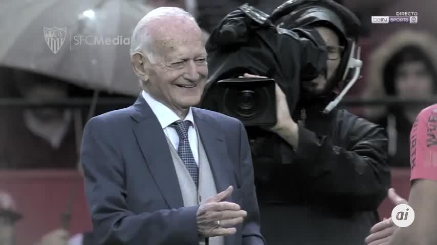 Fallece el padre de García-Rayo, socio nº 1 del Sevilla FC