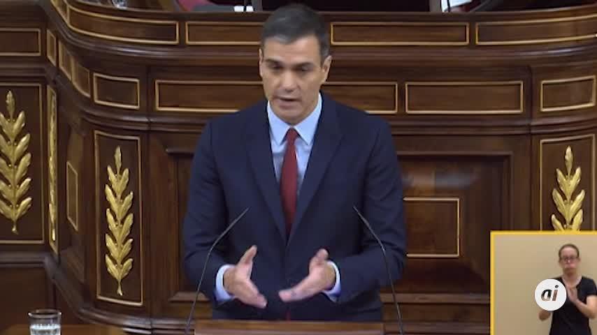 """Sánchez quiere superar las """"tensiones territoriales"""" con un """"proyecto"""""""
