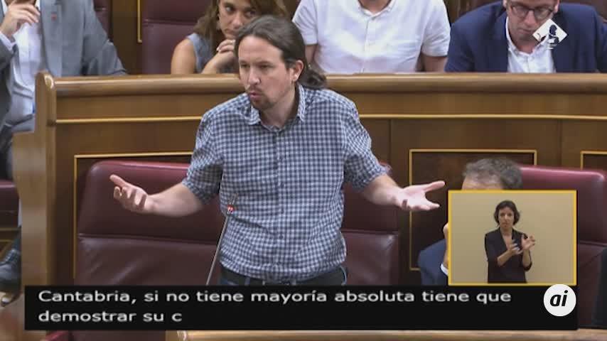 Pablo Iglesias quiere Hacienda, Trabajo, Igualdad y Ciencia