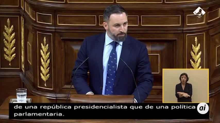 """Vox rechaza Gobierno del PSOE con """"golpistas, comunistas y chavistas"""""""