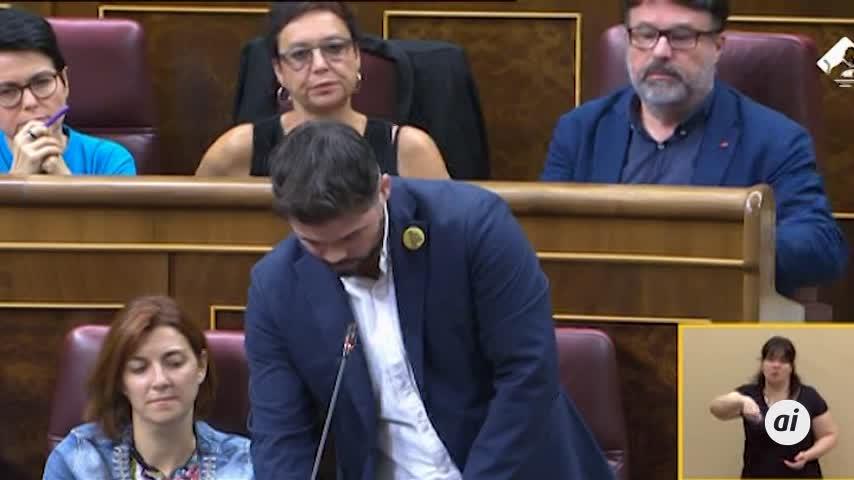 ERC afea a Sánchez su silencio sobre Cataluña