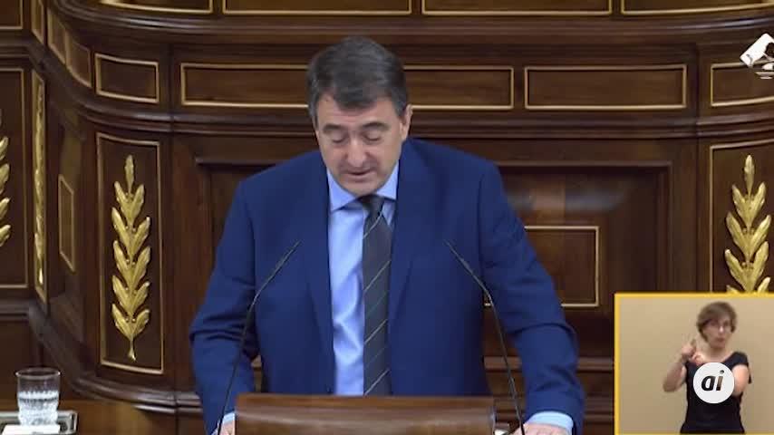"""El PNV dice a Sánchez que """"para sumar hay que ceder"""""""