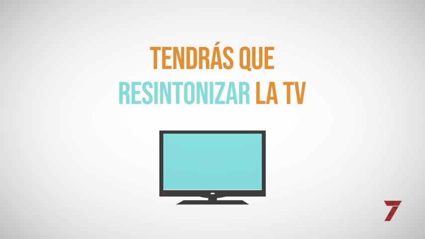 Llega la nueva TDT ¿Qué tengo que hacer para seguir viendo 7TV?