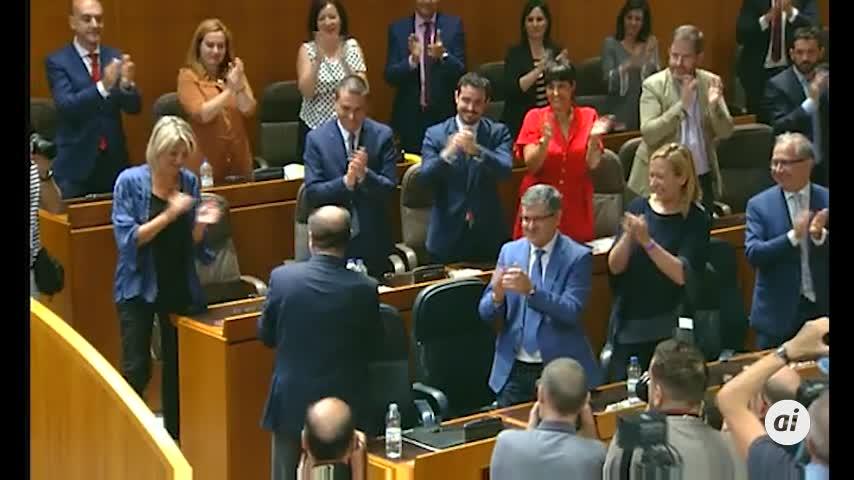 Lambán (PSOE), presidente de Aragón con el apoyo de cinco partidos