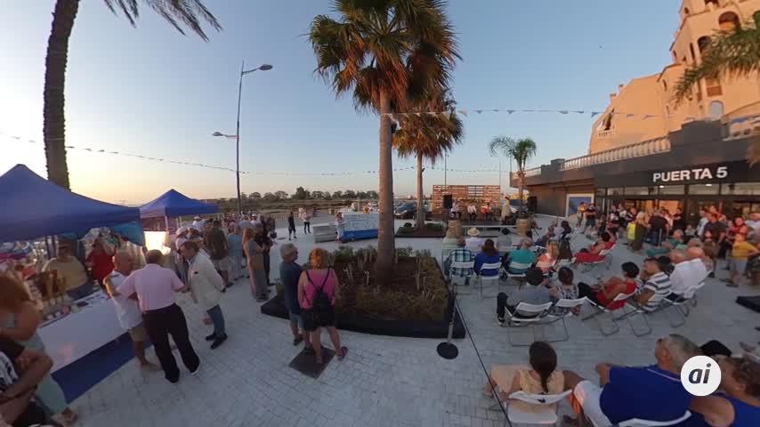 Flamenco y cocina de cara a la Bahía con La Isla Ciudad Flamenca