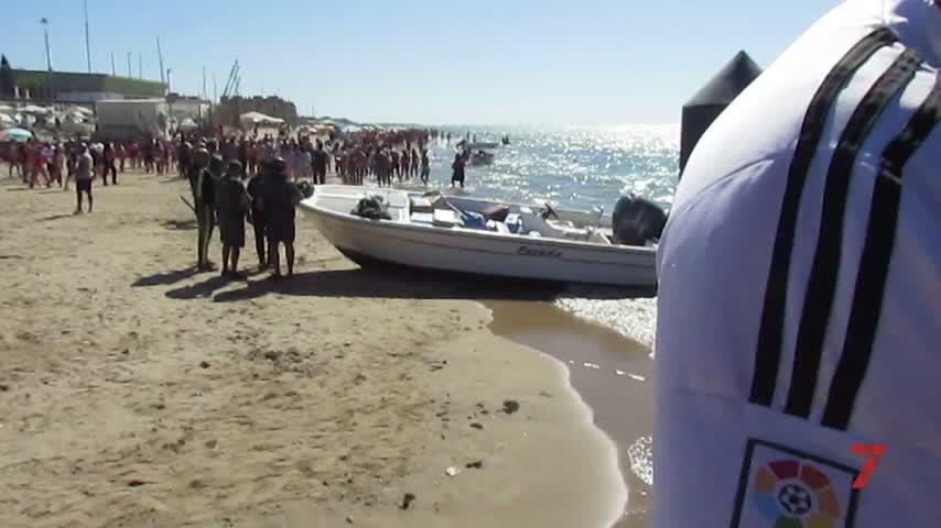 Aprehendido un importante cargamento de droga en Sanlúcar de Barrameda