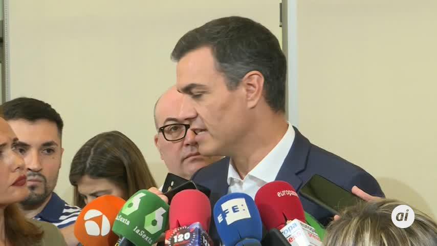 Sánchez hablará tras el verano con partidos susceptibles de apoyarle