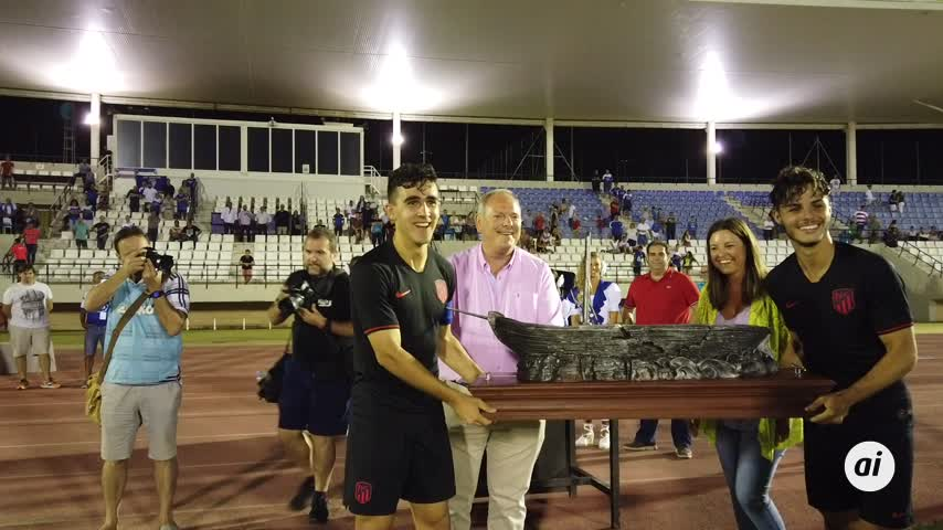 El Atlético de Madrid B se alza con el XXIII Trofeo de la Sal