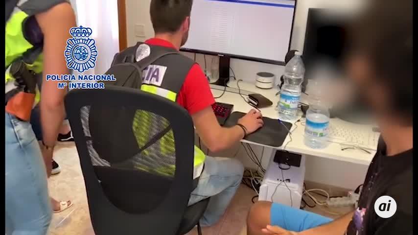 Cinco detenidos acusados de defraudar 500.000 euros en 'bitcoins'