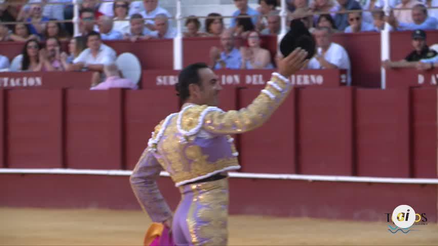 El Cid da una vuelta al ruedo en su despedida de Málaga