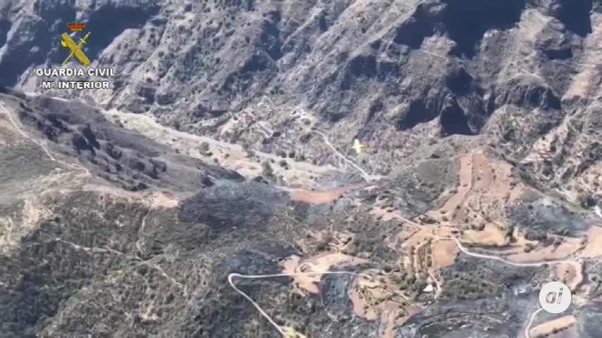 Nueve detenidos por provocar once incendios en seis provincias