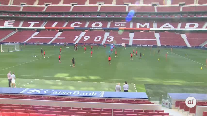 Atlético y Getafe protagonizan el primer derbi madrileño de la liga