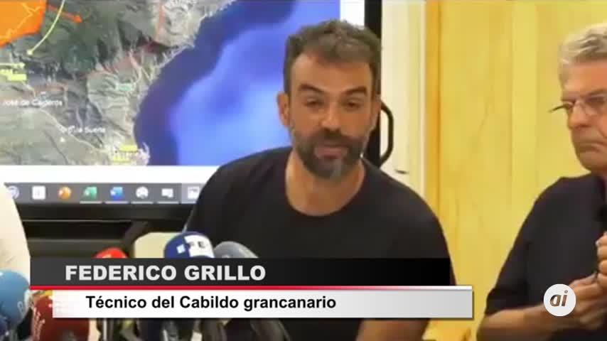 """El incendio de Gran Canaria, """"imparable"""""""